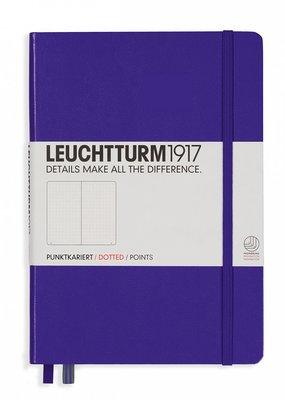 Leuchtturm Leuchtturm Medium  Hardcover Dotted Purple