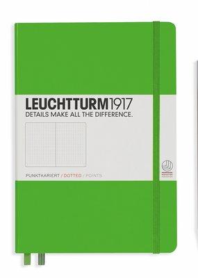 Leuchtturm Leuchtturm Medium  Hardcover Dotted Fresh Green