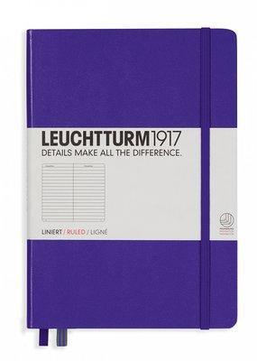 Leuchtturm Leuchtturm Medium Hardcover Ruled Purple