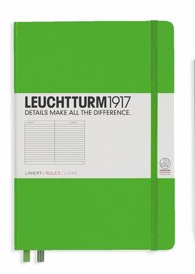 Leuchtturm Leuchtturm Medium Hardcover Ruled Fresh Green