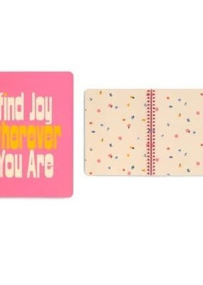 Ban.do Mini Notebook Find Joy