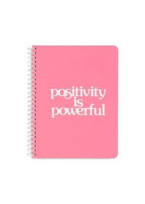 Ban.do Mini Notebook Positivity is Powerful