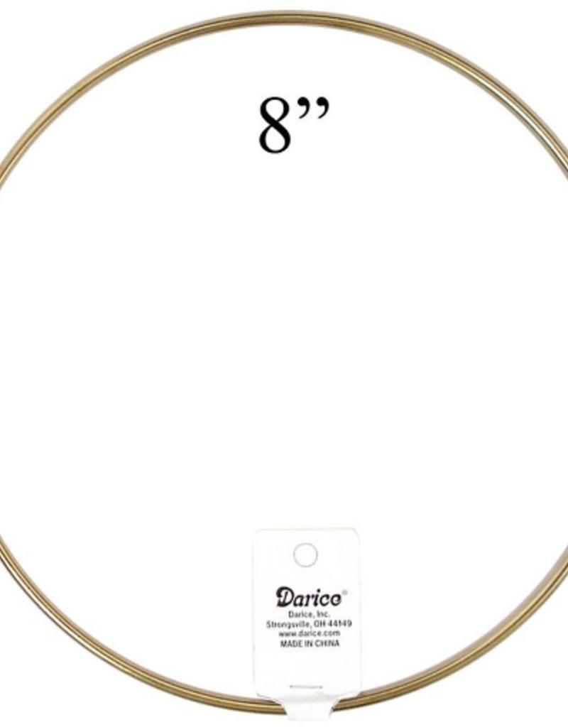 Darice Brass Ring 8 Inch