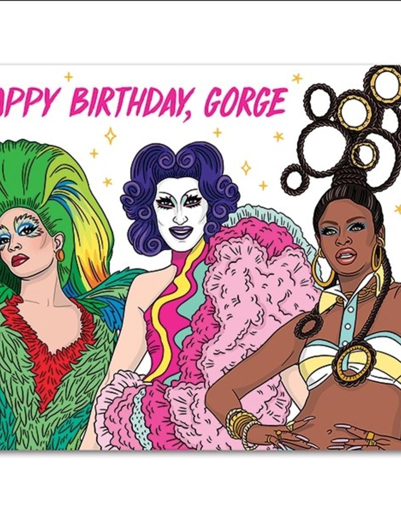 The Found Card Happy Birthday Gorge!