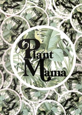 BOBBYK boutique Sticker Plant Mama