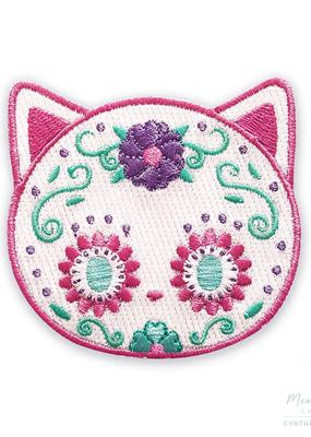 Meow Amor Creative Patch Sugar Skull Pastel