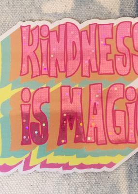 Wildflower + Co. Sticker Kindness is Magic Sticker