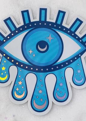 Wildflower + Co. Sticker Cosmic Evil Eye Holo