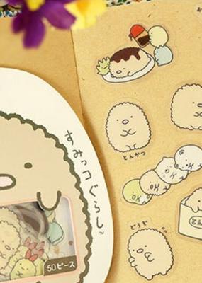 collage Sumikko Gurashi Sticker Pack