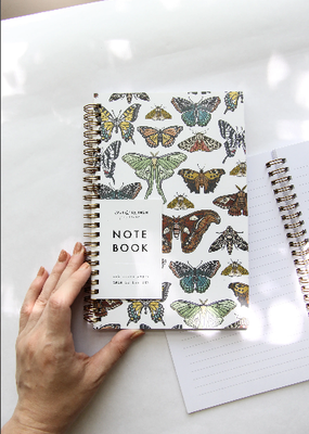 Root & Branch Paper Co. Spiral Bound Notebook Butterfly Collection