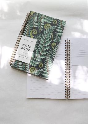 Root & Branch Paper Co. Spiral Bound Notebook Forest Fern