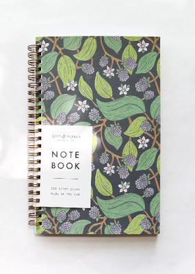 Root & Branch Paper Co. Spiral Bound Notebook Wild Blackberry