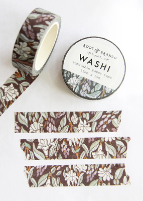 Root & Branch Paper Co. Washi Moonlit Tuberose