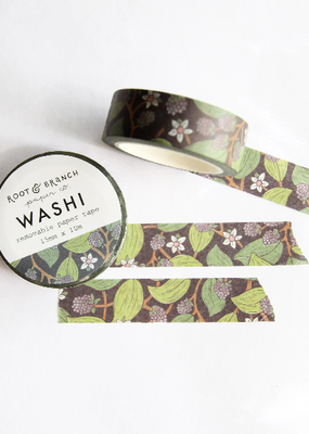 Root & Branch Paper Co. Washi Wild Blackberry
