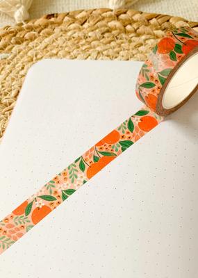 Elyse Breanne Design Washi Oranges Floral