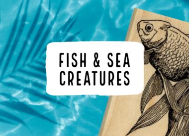 Fish & Sea Creatures