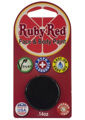Ruby Red Ruby Red Face Paint Single Black