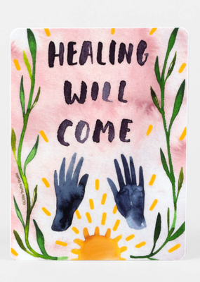 Little Truths Studio Sticker Healing Will Come