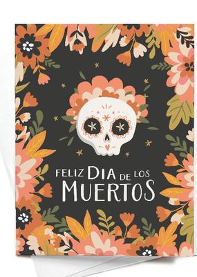 onderkast studio Card Feliz Dia De Los Muertos