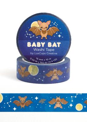 LuxCups Creative Washi Baby Bat