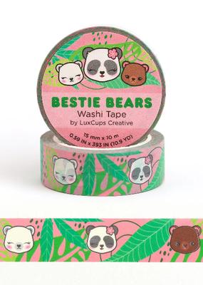 LuxCups Creative Washi Bestie Bears
