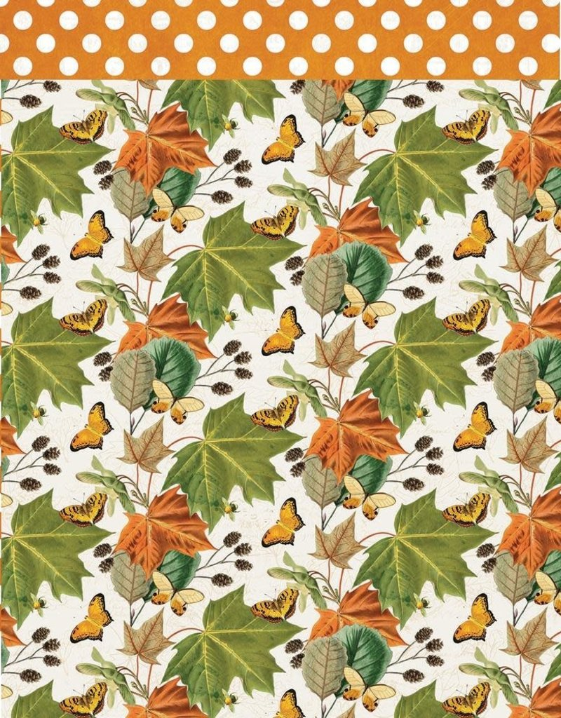 Simple Stories 12 x 12 Decorative Paper Favorite Season