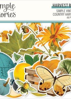 Simple Stories Country Harvest Die Cuts