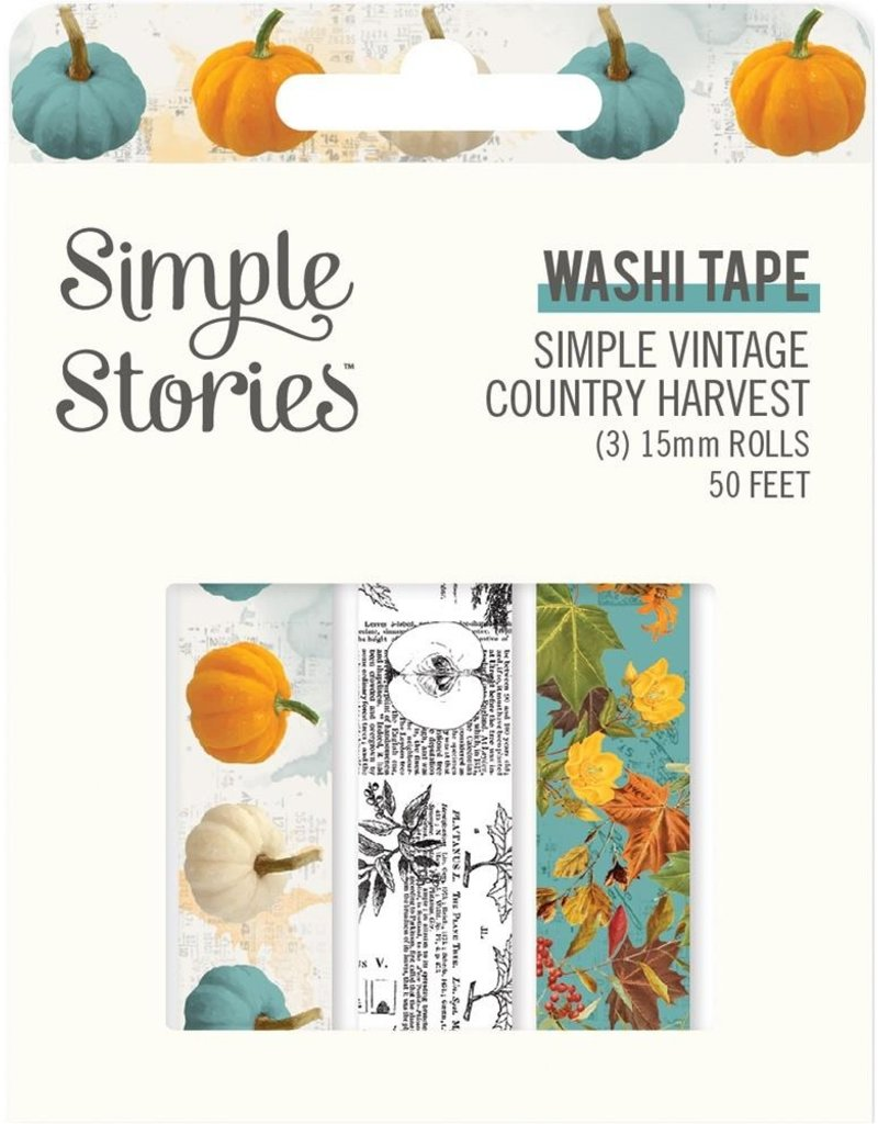 Simple Stories Washi Country Harvest