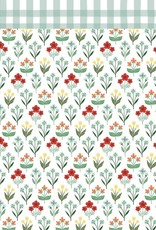 Carta Bella 12 x 12 Decorative Paper Blissful Blossom