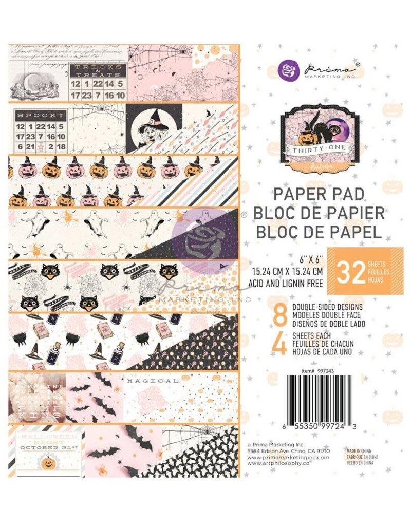 Prima Marketing 6 x 6 Decorative Paper Pad Thirty-One