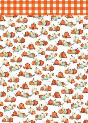 Carta Bella 12 x 12 Decorative Paper Pumpkin Patch Picks
