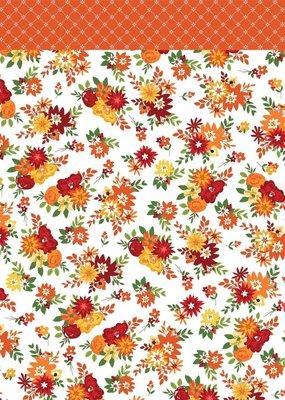 Carta Bella 12 x 12 Decorative Paper Fall Floral