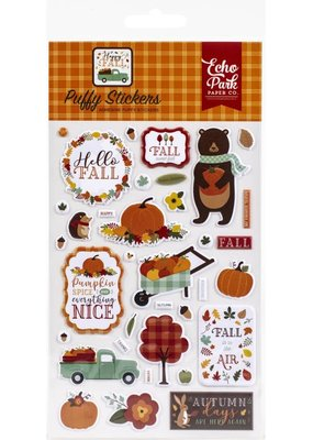 Echo Park Paper Co. Stickers Happy Fall Puffy