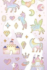 Sticker Rainbow Unicorn