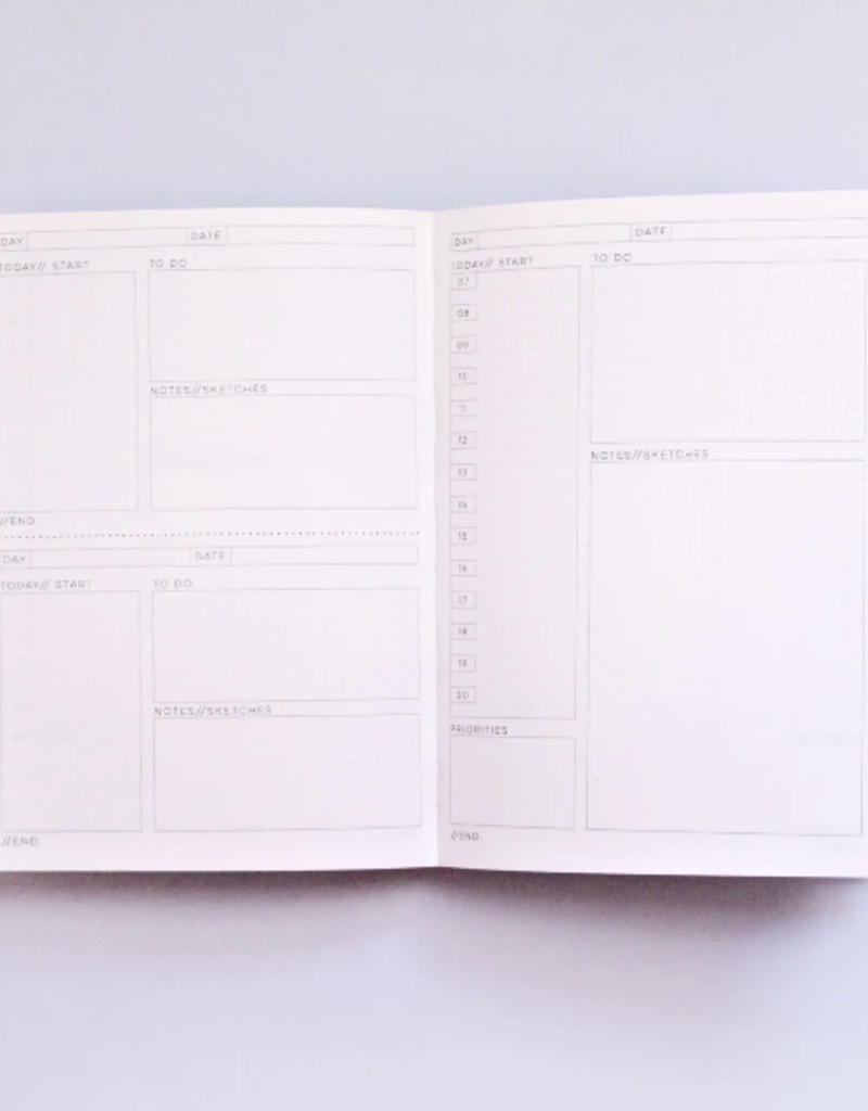 The Completist Daily Planner Andalucia No. 2