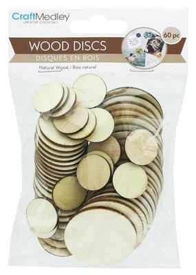 Craft Medley Wood Discs