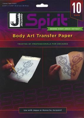 Jacquard Spirit Transfer Paper