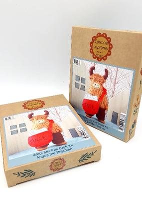 Corinne Lapierre Limited Felt Craft Mini Kit Angus the Postman