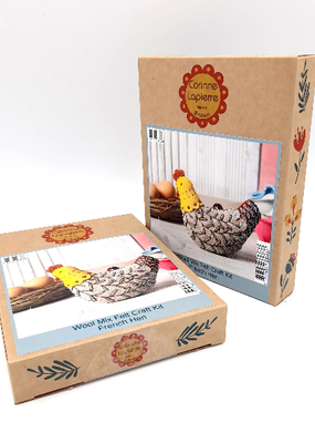 Corinne Lapierre Limited Felt Craft Mini Kit French Hen