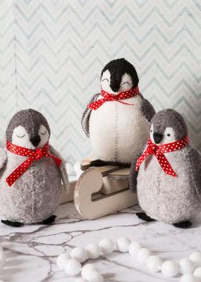 Corinne Lapierre Limited Felt Craft Mini Kit Baby Penguins