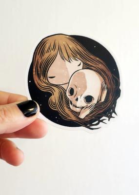 Stasia Burrington Sticker Memento Mori