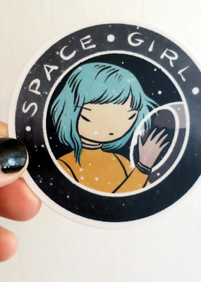 Stasia Burrington Sticker Space Girl