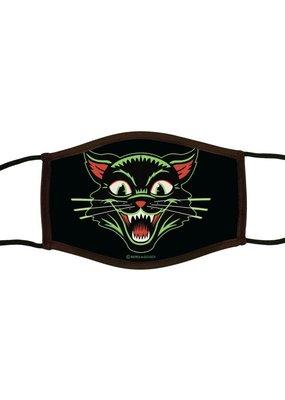 Retro-a-go-go Face Mask Frisky Kitty