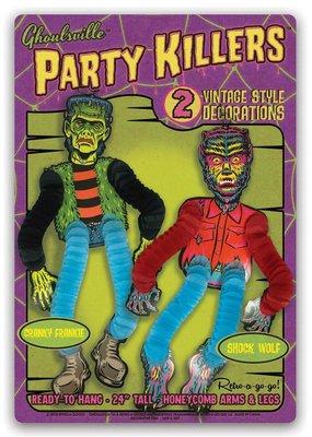 Retro-a-go-go Party Killers Cranky Frankie & Shock Wolf