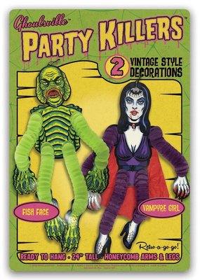Retro-a-go-go Party Killers Fish Face and Vampyre Girl