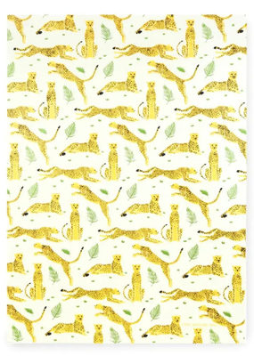 Midori Wrap Sheet Cheetah