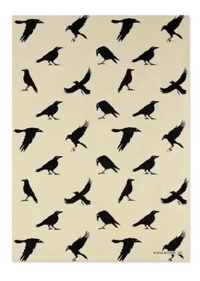 Midori Wrap Sheet Crows