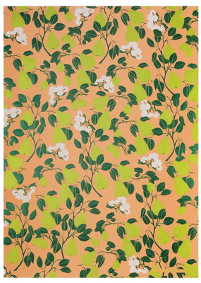 Midori Wrap Sheet Pear Blossom