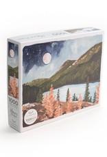 1 Canoe 2 1000 Piece Puzzle Alpine Moon