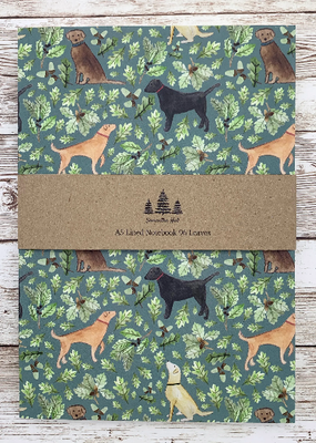 Samantha Hall Designs Notebook Labrador